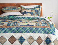 Yellowstone Coverlet Set**
