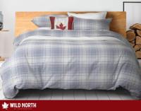 Marlow Brushed Flannel Duvet Cover Set