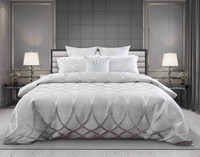Cosmopolitan Bedding Collection front view.