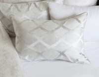 Cosmopolitan Pillow Sham, on bed