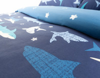 Shark Point Duvet Cover Set