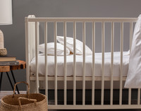 Bamboo Cotton Crib-Sized Fitted Sheet