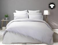 300TC Organic Cotton Duvet Cover in White