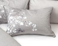 Ashley Pillow Sham on bed