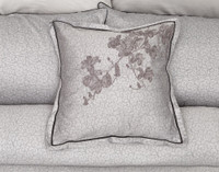 Ashley Square Cushion Cover on bed