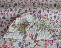 Wild Blooms Coverlet Set**