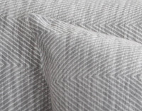 Sheldon Pillow Sham knife edge close-up