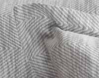 Sheldon Euro Sham flange close-up