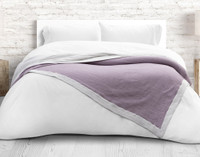 Air Cotton Blanket in Violet