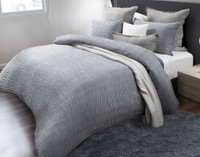 Wave Duvet Cover side view