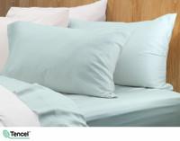 Eucalyptus Luxe Pillowcases - Robin's Egg (Set of 2)