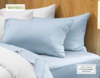 Bamboo Cotton Pillowcases - Sky (Set of 2)
