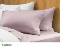 Bamboo Cotton Pillowcases - Orchid