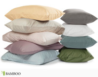 Selection of pillowcase colours in Bamboo Cotton