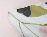 Close up of Solange Pillow Sham edge.