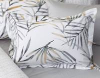 Tobago Pillow Sham on bed