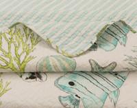Bahamas Cotton Quilt Set
