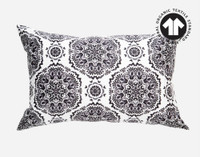 300TC Organic Cotton pillow sham in Pietra.