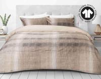 300TC Organic Cotton Duvet Cover Set in Travis.