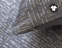 300TC Organic Cotton Duvet Cover Set - Marmara