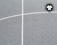 Close-up of 300TC Organic Cotton Duvet Cover Set in Fremont.