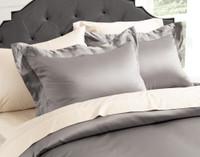 Sovereign Collection 800TC SUPIMA® Cotton Duvet Cover Set - Platinum
