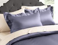 Sovereign Collection 800TC SUPIMA® Cotton Duvet Cover Set - Noble Blue