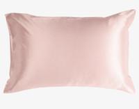 100% Mulberry silk pillowcase in blush
