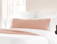 Teddy Lumbar Pillow - Dusty Peach