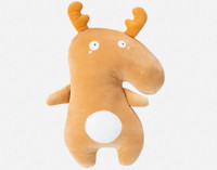 Morley Moose Cuddle Cushion Front