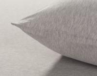 TENCEL™ Modal Jersey Pillowcase in Granite Close-up