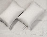 TENCEL™ Modal Jersey Pillowcases in Granite