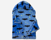 Inside view of the Bat Cape Throw.