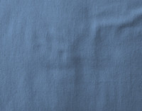 Close up of colour on Flannel Cotton Sheet Set in Blue Ash.