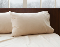 Flannel Cotton Sheet Set - Oatmeal