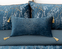 Panache Boudoir Cushion Cover pictured with accompanying pieces.