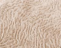 Faux Rabbit Plush Comforter Set - Blush