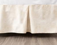 Mirasol Bedskirt in a soft sandstone colour