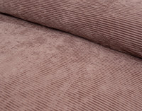 Close up of front of Corduroy Duvet Cover Set in Shadow Rose.