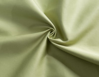 Close up of Cotton Rich Sheet Set in Meadow Green.