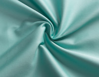 Close up of Cotton Rich Sheet Set in Turquoise.