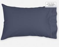 Supima® Cotton Pillowcase in Sapphire Blue.