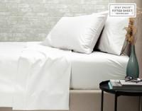 500TC Supima® Cotton Sheet Set - White