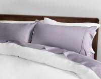 Sateen Cotton 500TC California King Sheet Set in Blue Iris