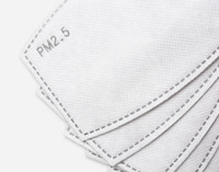 PM2.5 Face Mask Replacement Filters close-up