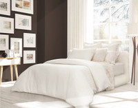 Side view of Bedding Collection.