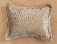 Mercado Velvet Pillow sham.