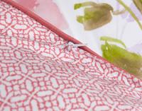 Close up of Calypso Duvet Cover reverse.
