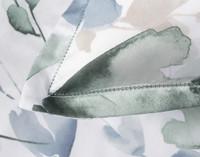 Close up of flange on Della Pillow Sham.