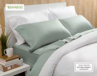 Bamboo Cotton Sheet Set in Jadeite.